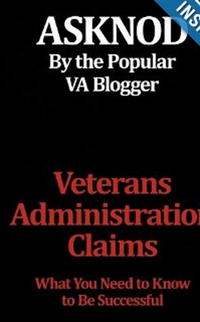 I'm not the ONLY one writing eBooks about the VA Benefits Claim Process.