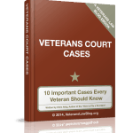 Veterans Court Cases