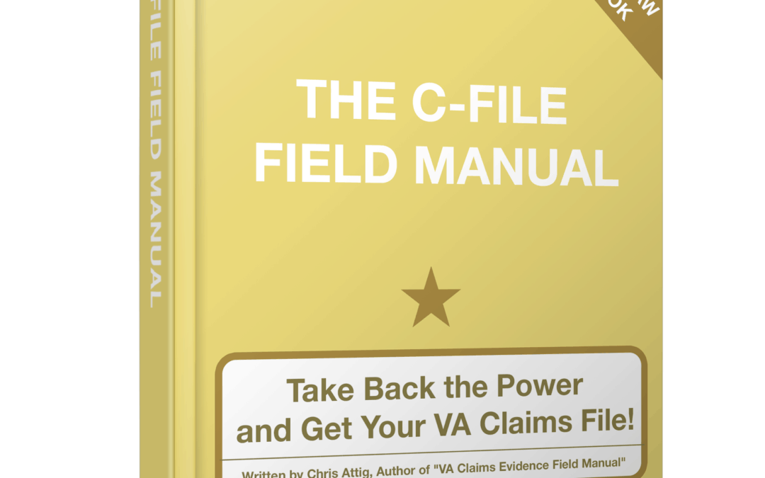 The VA C-File is the most important document in your VA appeal.