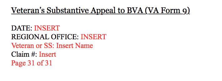 7 Tips for Sending to the New VA Evidence Intake Center.