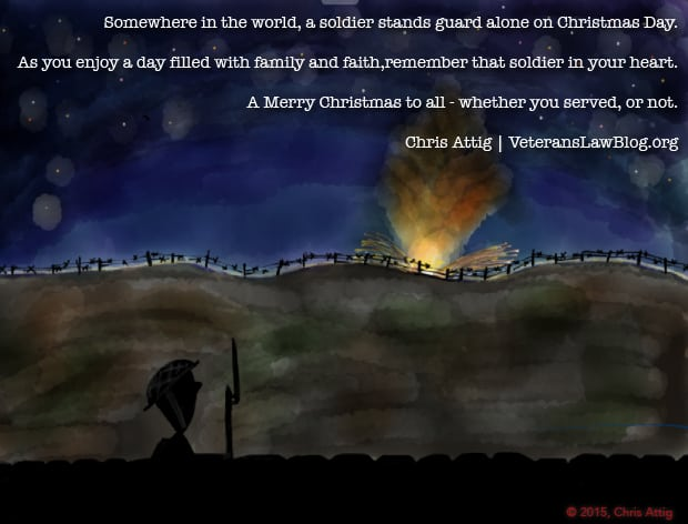 Merry Christmas to All Soldiers and Veterans….Wherever you Are.