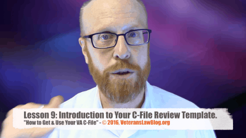 How to Get and Use your VA C-file