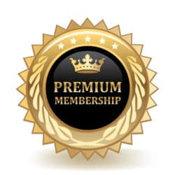 Premium Membership Badge