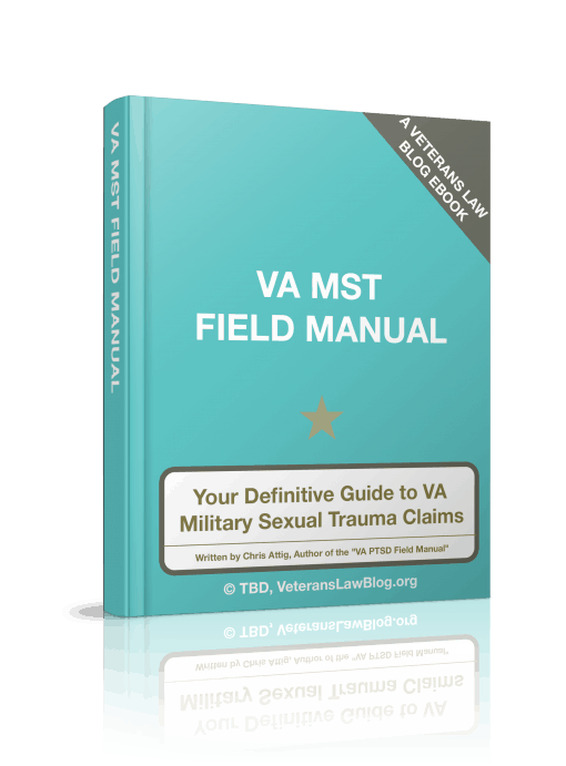 VA Military Sexual Trauma Claims