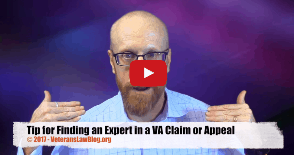 VIDEO: My Favorite Tip for Finding an Independent Medical Expert for VA Claims and Appeals