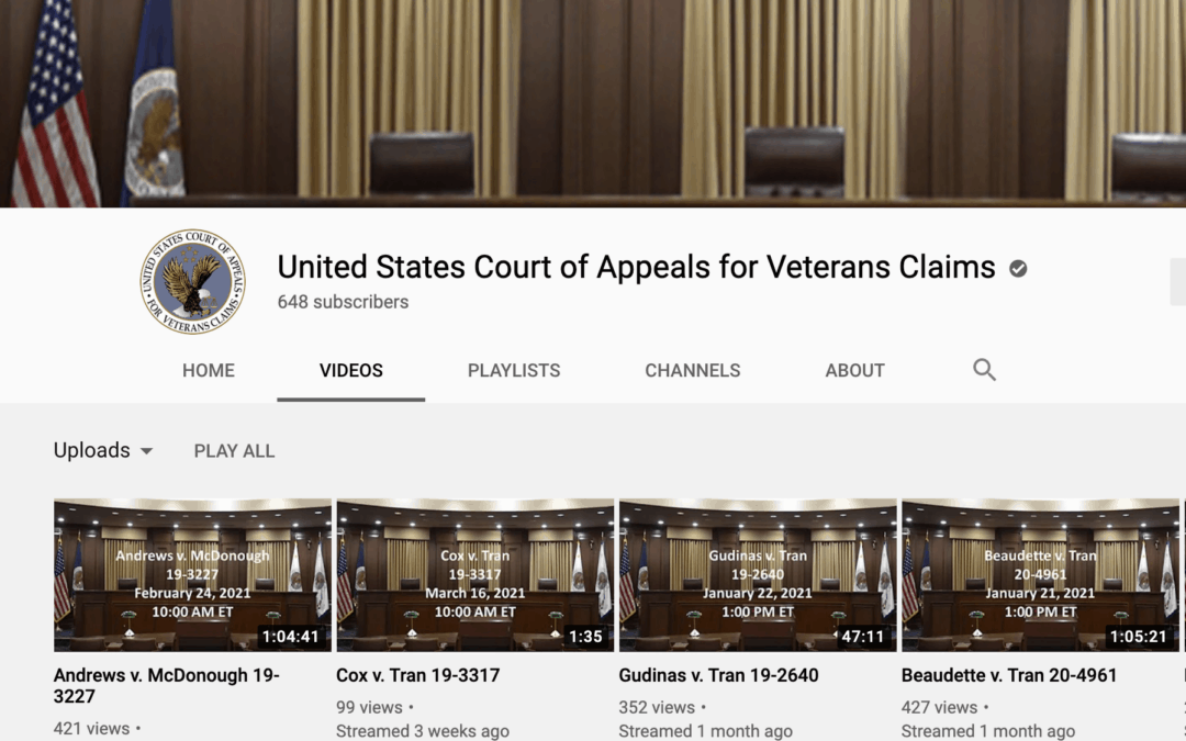 9 Things You Should Know about the Court of Appeals for Veterans Claims.