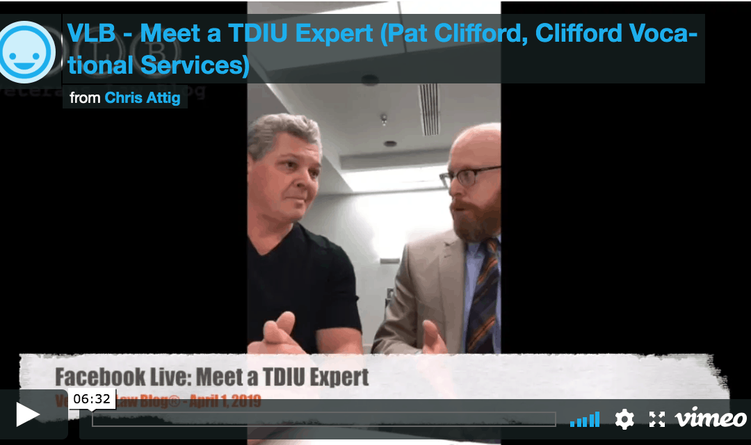 Meet a VA TDIU Expert – Pat Clifford (Clifford Vocational Services)