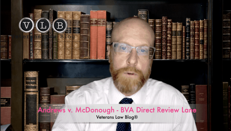 What did the Court say about the BVA direct review lane under AMA?